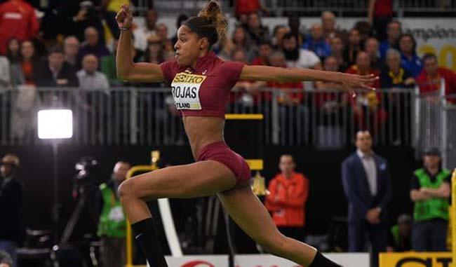Rojas se llevó el oro con marca de 14.20 metros
