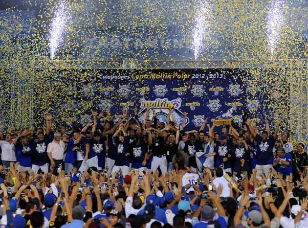 Magallanes se proclamó campeón de la temporada 2012-2013 630-6b6d5781f69b8ac5e718ef0fe8acc1c5