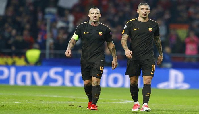 La Roma perdió en el Wanda Metropolitano | Foto: AP