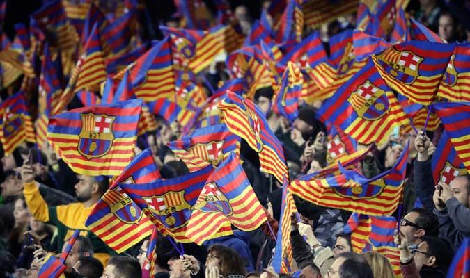 El Camp Nou fue el estadio que recibió la ida de estas semifinales de Copa/ Foto AP
