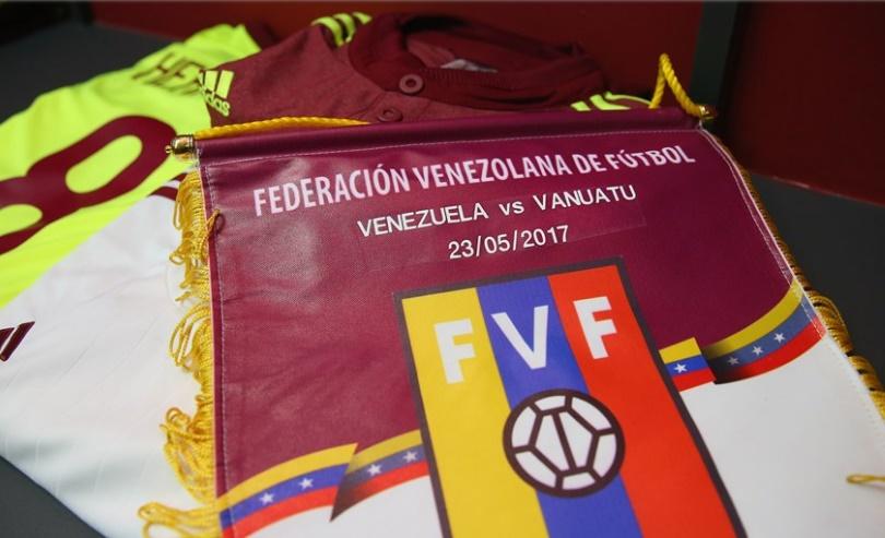 El banderín de la selección /Foto FIFA