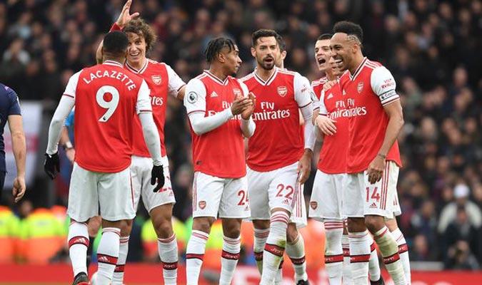 7. Arsenal (2.089 millones de euros aprox)