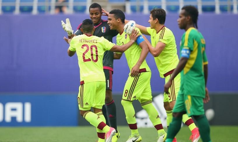 Venezuela consiguió el pase a octavos /Foto FIFA