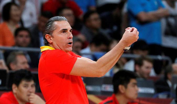 Scariolo propuso un gran planteamiento para vencer a Argentina/ Foto EFE