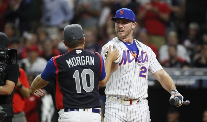 El beisbolista tuvo una noche de ensueño / Foto: AP