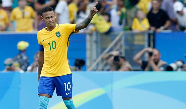 Neymar llevó a Brasil a la final/AP