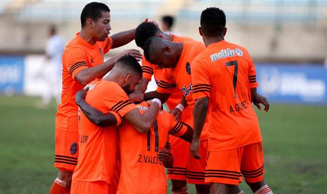 Zamir Vloyes marcó doble para el equipo varguense  |  Foto AVS