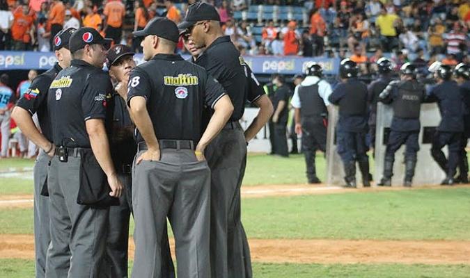 En Venezuela el drama apareció en los encuentros /Foto LVBP