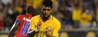 Gabigol marcó en la goleada amazónica / EFE