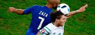 Irlanda sorprendió a Italia y se instaló en octavos./EFE