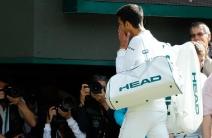 Así se fue Djokovic de la cancha tras ser eliminado del Wimbledon