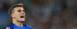Antoine Griezmann celebrando el pase a la final./EFE