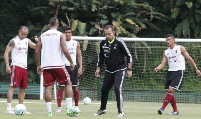 Dudamel trabajó con parte de la selección en Caracas | Foto Alberto Torres