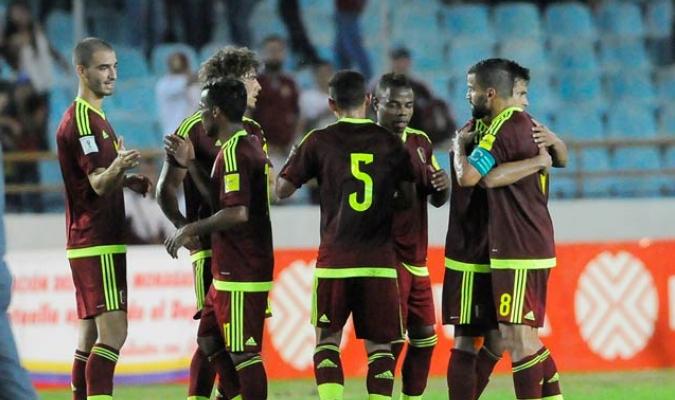 La Vinotinto se apoyó del hat trick de Josef Martínez y tantos de Kouffati y Otero / Foto David Urdaneta