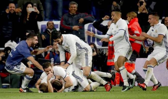 El Real Madrid sigue líder gracias a Sergio Ramos / Foto EFE