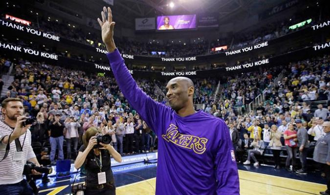 La despedida de Kobe Bryant fue bastante emotiva /Foto AP