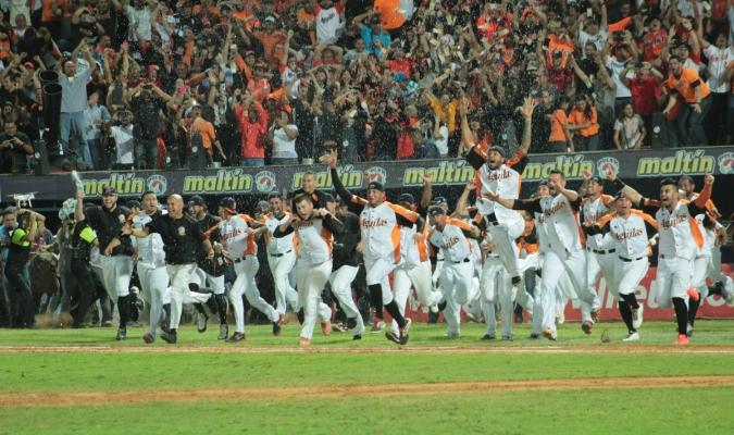 Así celebraron los aguiluchos el campeonato de la temporada 2016-2017 de la LVBP | AVS