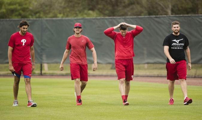 Los Phillies fueron uno de los equipos que empezaron temprano /Foto AP