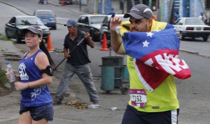 La avenida San Martín se llenó de ejercicio y felicidad
