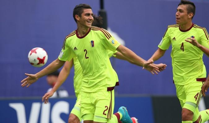Velásquez anotó el primero de los siete goles de Venezuela /Foto FIFA