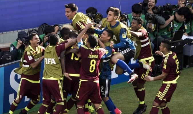 La Vinotinto Sub-20 superó a México y pasó como primera de grupo /Foto FIFA