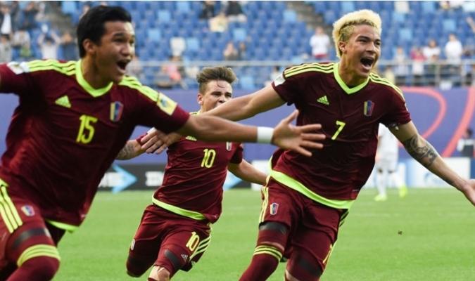 La Vinotinto sub-20 derrotó a Uruguay en penales y buscará el campeonato /Foto FIFA