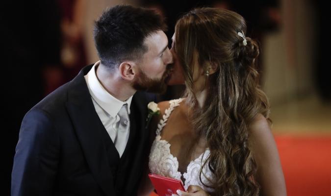Messi Y Antonella se casaron en su ciudad Natal