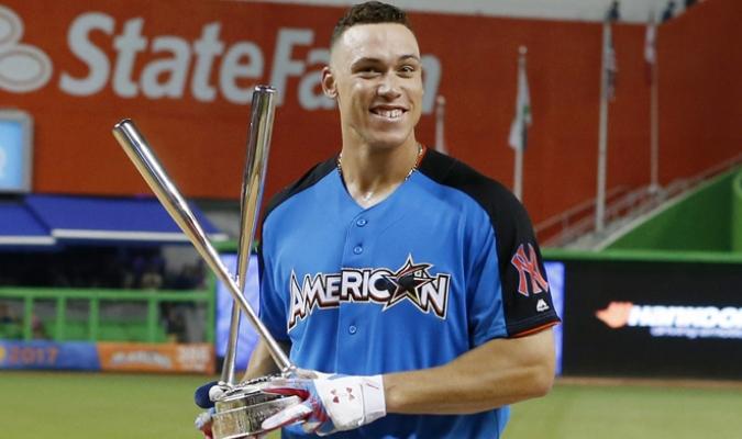 El jardinero de los Yankees se convirtió en el nuevo rey de los cuadrangulares /Foto AP