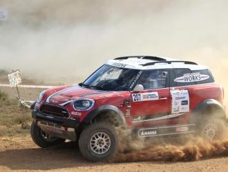 Hirvone espera llevarse el Rally en la definición / Foto EFE