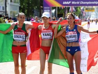 Yang, González y Palmisano llenaron el podio | EFE