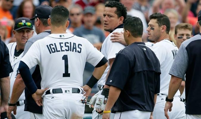 Miguel Cabrera protagonizó la golpiza | AP