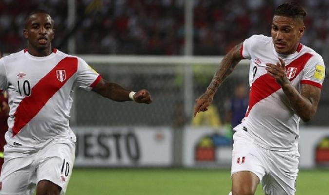 Los atacantes peruanos listos para afrontar la nueva fecha de eliminatorias / Cortesía