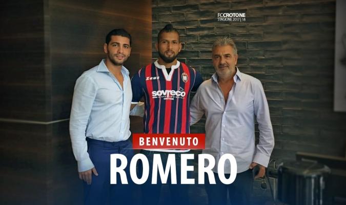 Romero espera lucir en Italia / Crotone