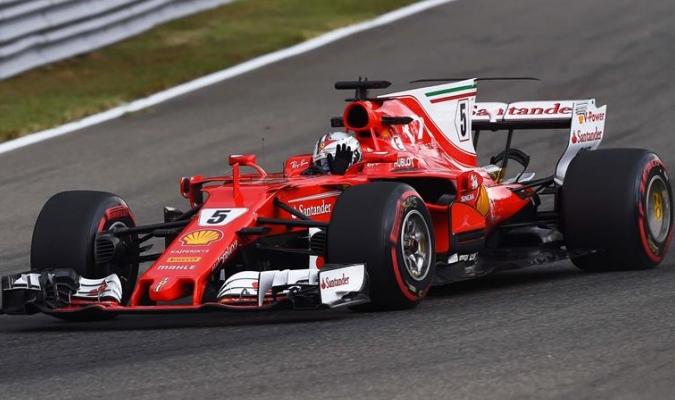 Vettel quiere brillar en la casa de Ferrari / Foto EFE