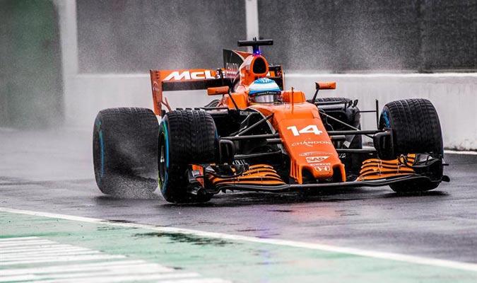 Alonso saldrá último por sanción/ Foto EFE
