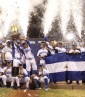 Nicaragüenses celebraron | TW: @RosaMembreo
