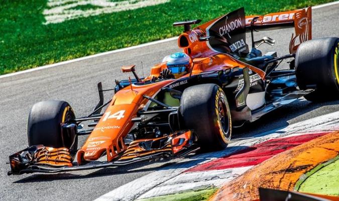 Alonso sigue queriendo ganar con McLaren / Foto EFE