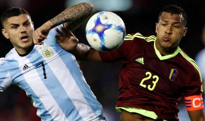 Venezuela busca la sorpresa en Argentina / EFE