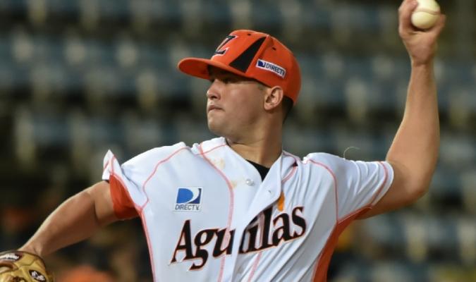 Matt Lujan ya jugó con Águilas | Prensa Águilas