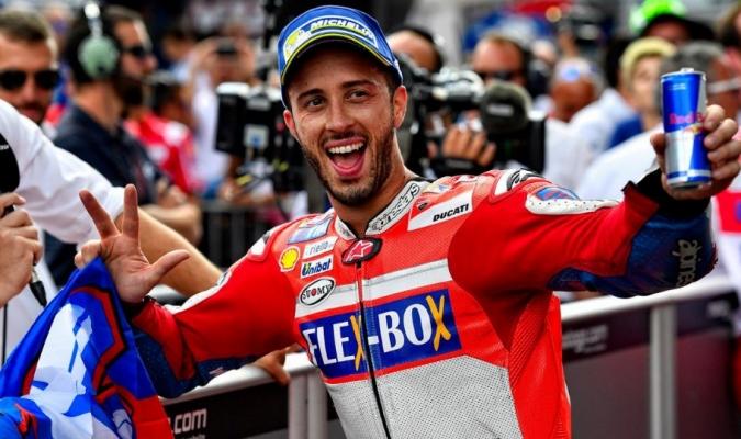 El italiano llega con muchas expectativas a la carrera de casa / Foto Agencias