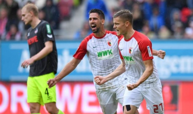 Los locales ganaron | TW:@FCAugsburg