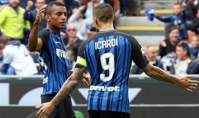 Icardi marcó el primer tanto del partido / EFE