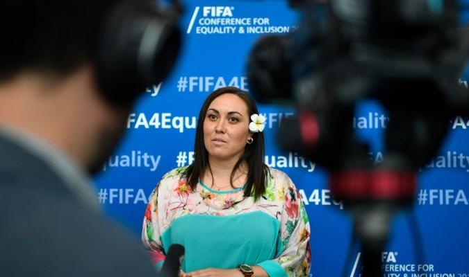 Sarai Bareman, directora #FutFem de la FIFA | Foto: Referencia