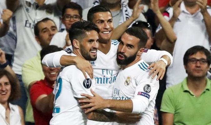 Cristiano Ronaldo marcó dos de los tres goles / EFE
