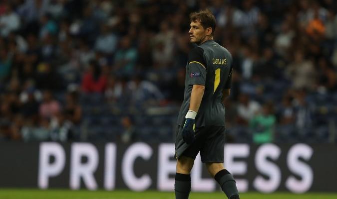Casillas ya está en solitario con más partidos en Europa / Foto @UCL