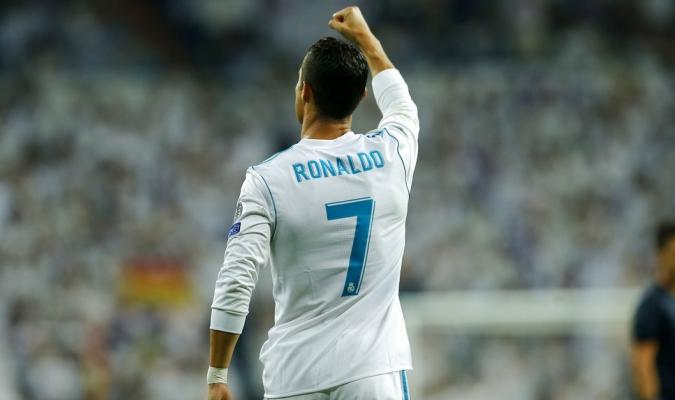 Ronaldo marcó dos tantos en su regreso a las canchas | Foto: AP