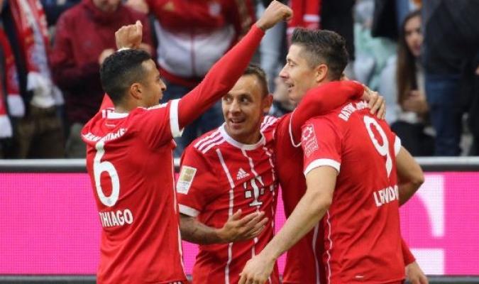 La victoria le da aire a los bávaros | TW: @FCBayern