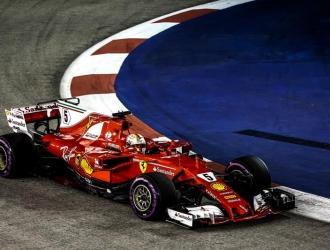 Vettel estuvo satisfecho por el trabajo sabatino / Foto EFE