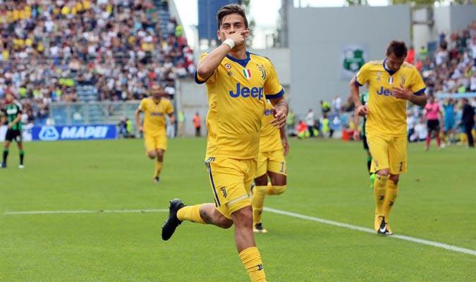 Dybala cumplió 100 partidos con la Juventus/ Foto EFE
