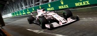 El mexicano continuará con Force India otro año más / Foto EFE